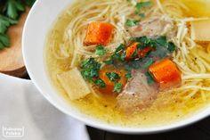 rosol-przepisn-najlepszy-2-1 Polish Recipes, Polish Food, Aga, Thai Red Curry, Ramen, Food And Drink, Dishes, Cooking, Ethnic Recipes