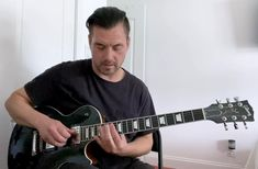 Slide licks on a G minor thing. Interesting turnaround on this one, what do you think the chords are? Guitar Solo, Guitar Tips, Guitar Lessons, Music Lessons, Ultimate Guitar Chords, Guitar Exercises, Blues, G Minor, Slide Guitar