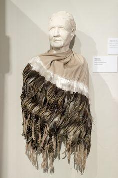 Rebozo de Plumo, 'Feathered Rebozo' from Ahuiran, Michoacan woven by Cecelia Bautista Caballero