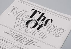 The Relatives - Jozef Ondrik – Graphic Design & Typography