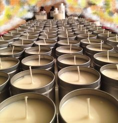 Wedding & Party Favors: Soy Lotion Candles – Red Wine and Chocolate