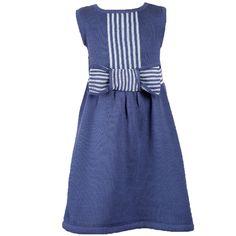 6 Babatude Blue Bow Dress