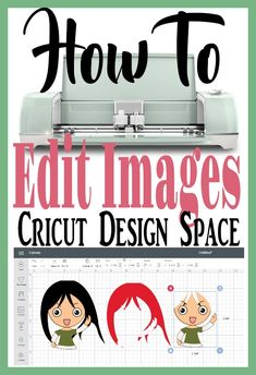 Cricut for Beginners - Learn how to edit images in Cricut Design Space. This will help make Cricut projects even faster. Learn from my mistakes.Fast and easy! - Addicted To Cricut - Cricut Air 2, Cricut Help, Cricut Vinyl, Cricut Mat, Cricut Fonts, Cricut Ideas, Cricut Tutorials, Vinyl Projects, Diy Craft Projects