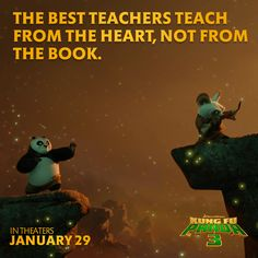 Kung Fu Panda 3 Staring Jack Black as Po! Out in Theaters Friday, Jan. But first check out what Jack Black has to say about voicing Po! Kung Fu Panda 3, Kung Fu Panda Quotes, Movie Quotes, Life Quotes, Master Oogway, Master Shifu, Motivational Quotes, Inspirational Quotes, Positive Quotes