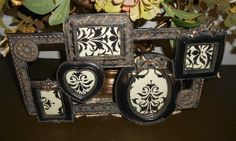 this is really cute . do you like it?? old vintage picture frame