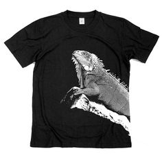 Iguana Tshirt by GreenlakeTee, $15.00