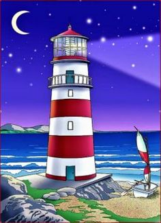 Lighthouse Glow (117 pieces)