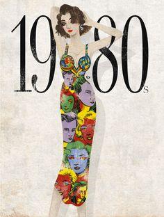 "1980s by Eko Bintang, ""Age of Abundance"", Versace, ELLE Indonesia."