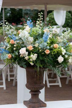 Field flowers Cascade Bouquet, Agapanthus, Faux Flowers, Wedding Events, Weddings, Flower Power, Floral Arrangements, Wedding Flowers, Floral Design