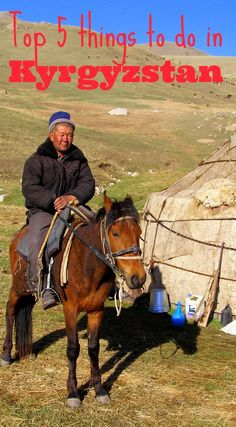 Kyrgyzstan is my favourite out of all the countries I have visited and it should be on everyone's travel bucket list. Here are my top 5 things to do in Kyrgyzstan, this is real travel: http://www.worldwanderingkiwi.com/2013/11/top-5-things-to-do-in-kyrgyzstan/