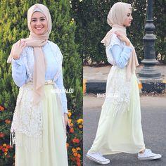 #hijabfashion #hijab #hijaboutfit #hijablookbook #hijabmodesty #hijabmuslim #hijablook #hijabi #chichijab #cairostyle  #modestmode  #modesty #summerfashion #hijablove #elegant #elegance #instafashion #fashionista #fashion #ootd #lookoftheday #lookbook #fashionstatement #hijabifashion #accessories #streetstyle #hijabstreasure #lady #yellow #skirt #pastels #converse #white