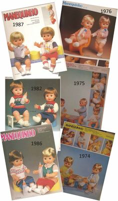 Boneco Manequinho da Estrela o 1º Boneco que tem Pipi e faz Xixi:      propaganda encarte revista Claudia Maio de 1974:         Boneco...