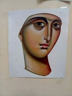 Bible Images, Byzantine Art, Orthodox Icons, Christian Faith, Face Art, Madonna, Art Lessons, Draw, Crafts