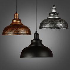 Modern Style Metal Lamp Luminaire Vintage Loft Pendant Light Retro Industrial #Unbranded #Modern
