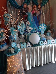 Frozen Party Olaf Party, Frozen Birthday Theme, Frozen Theme Party, 2nd Birthday Parties, Royal Tea Parties, Birthday Ideas For Her, Disney Frozen Birthday, Frozen Room, Party Ideas