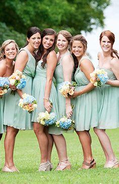 Green Southern Summer Wedding.