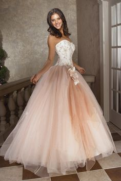 Ball Gown Quinceanera Dresses Sweetheart Floor Length Handmade Flower Embroidery With Beading