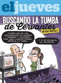 Los de la revista @eljueves son  #Cervantes #TrueStory