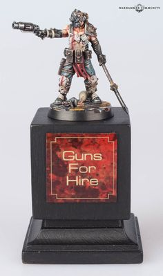 Yesterday's Forge World and Specialist Games Open Day was host to the latest Golden Demon painting competition, and as ever, … Sci Fi Miniatures, Warhammer 40k Miniatures, Warhammer Inquisitor, Necromunda Gangs, Painting Competition, Fantasy Battle, Warhammer Models, The Grim, Opening Day