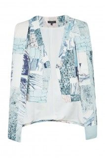 MARBLE CAPE - great with jeans!
