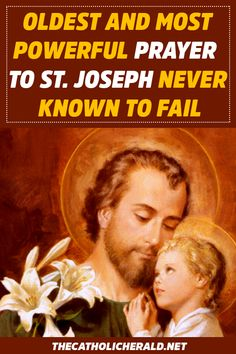 Oldest And Most Powerful Prayer To St. Joseph Never Known To Fail - The Catholic Herald Lent Prayers, Novena Prayers, Bible Prayers, Morning Prayers, Catholic Prayers, Everyday Prayers, Special Prayers, Prayer Scriptures, Prayer Quotes
