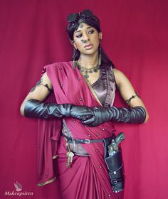 Bollywood Steampunk: Sand Rider by MakeupSiren
