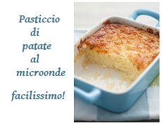 Come ti cucino un pasticcio di patate in 4 mosse! Facile facile, qui  http://tormenti.altervista.org/pasticcio-di-patate-in-4-mosse/