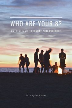 """""""Who are your 8? A mental image to clarify your priority."""", let why lead. Lists, planning, tips, activities and worksheets to support your success in your family, dreams and relationships to achieve your life goals. Tools that work well with motivation and inspirational quotes. For more great inspiration follow us at 1StrongWoman."""