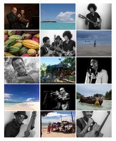 """La playlist vidéos des artistes qui feront le Nosy Be Jazz Festival 2016: Jacky Terrasson, Stéphane Belmondo, Lalatiana, les """"Malagasy Guitar Masters"""" avec Joël Rabesolo, Téta et Chrysanto"""