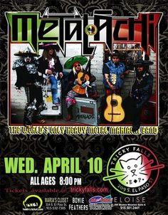 Metalachi | Tricky Falls | April 10, 2013 #Music #ElPaso #Events