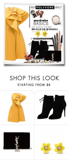 """Bez naslova #1"" by medinicab ❤ liked on Polyvore featuring Tom Ford, Yves Saint Laurent, WithChic and Caffé"