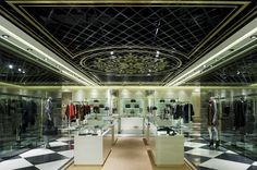 Vakko Istinye Park store by Autoban, Istanbul store design