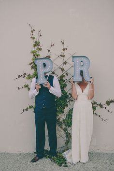 Vintage Style Marquee Lights for a Bride & by PatentPendingProject, . they look like cake toppers :) Marquee Love, Marquee Lights, Marquee Letters, Blue Wedding, Rustic Wedding, Dream Wedding, Wedding Day, Style Vintage, Vintage Fashion