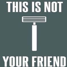 Just say no to razor.