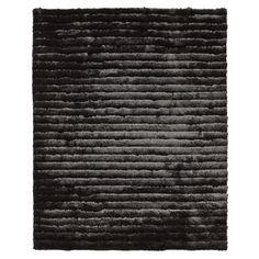 Contemporary Black Rug