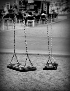 Empty swings | Flickr - Photo Sharing!