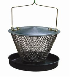 Metal NONO Feeder Comes with a Feeding tray that can hold up to lbs of black oil Sunflower seeds Peanut Bird Feeder, Bird Feeders, Peanuts For Birds, Black Oil Sunflower Seeds, Louis Vuitton Damier, Tray, Metal, Feed Trough, Teacup Bird Feeders
