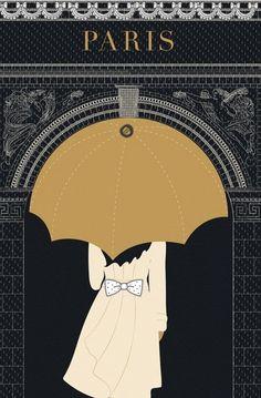 Vintage Paris poster http://stellaresque42.tumblr.com/post/47855314431
