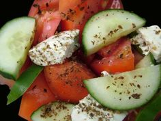 Mediterranean Diet Recipes: Salads