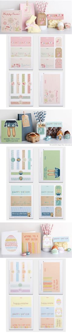 Printables - free downloads from Moo {these are technically for Easter, but could be adaptable for all year gift giving}