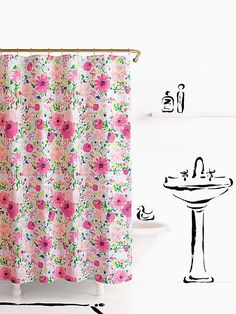 Dahlia Shower curtain by kate spade new york