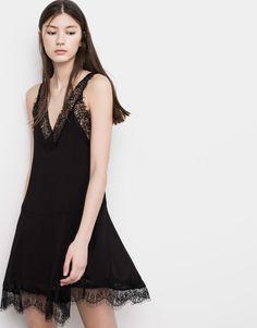 LACE DRESS - DRESSES - WOMAN - PULL&BEAR Croatia