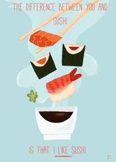 Sushi Art by Anne Passchier.