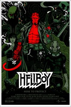 Mondo: The Archive | Florian Bertmer - Hellboy, 2011