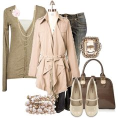 Beautiful Vintage, created by lagu on Polyvore