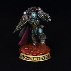 Garviel Loken, Captain of the Company, Sons of Horus, New Moon of The Mournival, Loyal Son. Warhammer Armies, Warhammer 30k, Sons Of Horus, Grey Knights, Space Marine, New Moon, Magic The Gathering, Marines, Miniatures