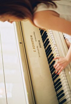 She isn't a musician, she is an artist. One who paints thoughts and feelings with her hands