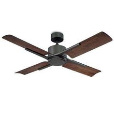Cervantes 56 in. Indoor and Outdoor Smart Ceiling Fan in Oil Rubbed Bronze with Light Kit Brass Ceiling Fan, Brushed Nickel Ceiling Fan, White Ceiling Fan, Black Ceiling, Ceiling Fans Without Lights, Ceiling Fan With Remote, Outdoor Flush Mounts, Outdoor Ceiling Fans, Weathered Oak