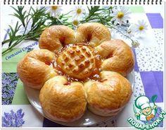 "Пирог ""Цветок"" с джемом"