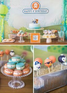 Creative Octonauts {& Sea Creatures!} Birthday Party